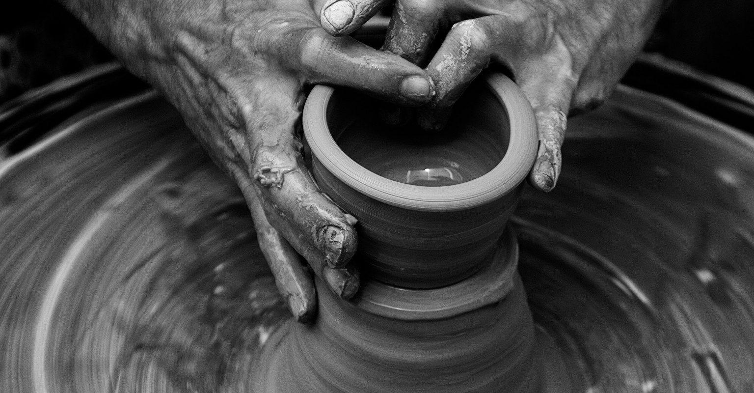 fabrication de poterie